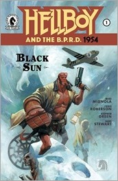 Hellboy and The B.P.R.D.: 1954 - The Black Sun #1 Cover - Huddleston