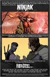 Ninjak #18 Preview 1