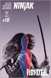 Ninjak #18 Cover A - Evans