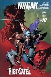 Ninjak #18 Cover C - Segovia