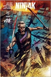 Ninjak #18 Cover - Interlocking Variant B Gorham