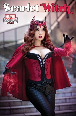 SCARLET WITCH #10 COSPLAY VARIANT by Yaya Han