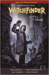 Witchfinder: City of the Dead #1 Cover