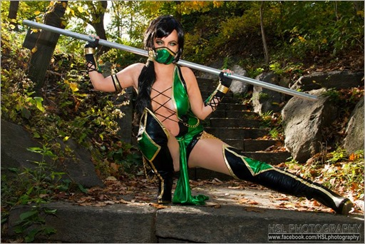 Elena Blueskies Cosplay as Jade (Photo by HSL Photography)