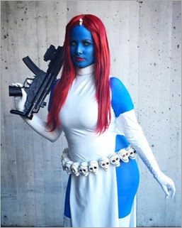 Elena Blueskies Cosplay as Mystique