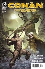 Conan The Slayer #3 Cover