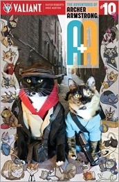 A&A: THE ADVENTURES OF ARCHER & ARMSTRONG #10 - Cat Cosplay Cover Variant
