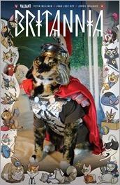 BRITANNIA #4 - Cat Cosplay Cover Variant