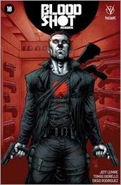 Bloodshot Reborn #18 Cover - Gill Variant