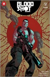 Bloodshot Reborn #18 Cover - Level Variant