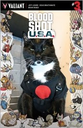 BLOODSHOT U.S.A. #3 - Cat Cosplay Cover Variant