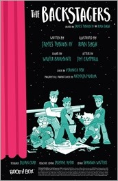 The Backstagers #2 Preview 1