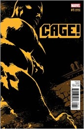 Cage! #1 Cover - Quesada Variant