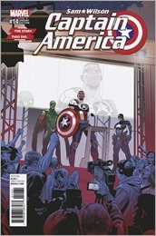 Captain America: Sam Wilson #14 Cover - Renaud Story Thus Far Variant