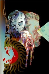 Cave Carson Has A Cybernetic Eye #1 Cover - Sienkiewicz Variant
