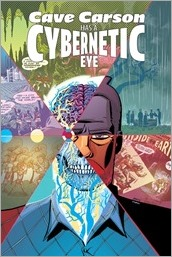 Cave Carson Has A Cybernetic Eye #1 Cover - Oeming