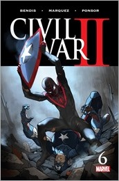 Civil War II #6 Cover