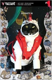 DIVINITY III: STALINVERSE #1 - Cat Cosplay Cover Variant