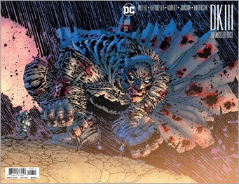 Dark Knight III: The Master Race #6 Cover - Miller 1 in 100 Variant
