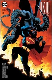 Dark Knight III: The Master Race #6 Cover - Lee/Williams 1 in 500 Variant