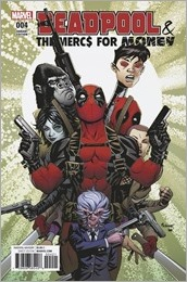 Deadpool and The Mercs For Money #4 Cover - McKone Variant