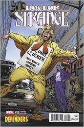 Doctor Strange #12 Cover - Guice Defenders Variant