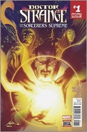 Doctor Strange and The Sorcerers Supreme #1 Cover - Albuquerque