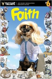FAITH #6  - Cat Cosplay Cover Variant