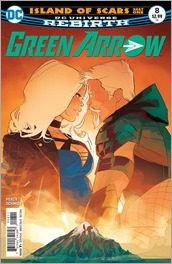 Green Arrow #8 Cover
