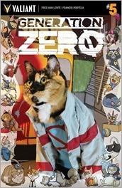 GENERATION ZERO #5  - Cat Cosplay Cover Variant