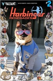 HARBINGER RENEGADES #2  - Cat Cosplay Cover Variant