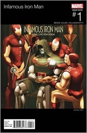 Infamous Iron Man #1 Cover - Hip-Hop Variant