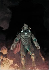 Infamous Iron Man #1 Cover - Ribic Variant