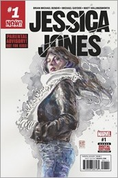 Jessica Jones #1 Cover - Mack