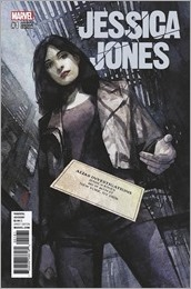 Jessica Jones #1 Cover - Maleev Variant