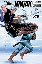 Ninjak #19 Cover - Laming Variant