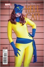Patsy Walker, A.K.A. Hellcat! #11 Cover - Cosplay Variant