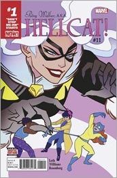 Patsy Walker, A.K.A. Hellcat! #11 Cover