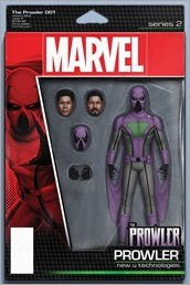 The Prowler #1 Cover - Action Figure Variant