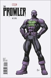 The Prowler #1 Cover - Deodato Teaser Variant