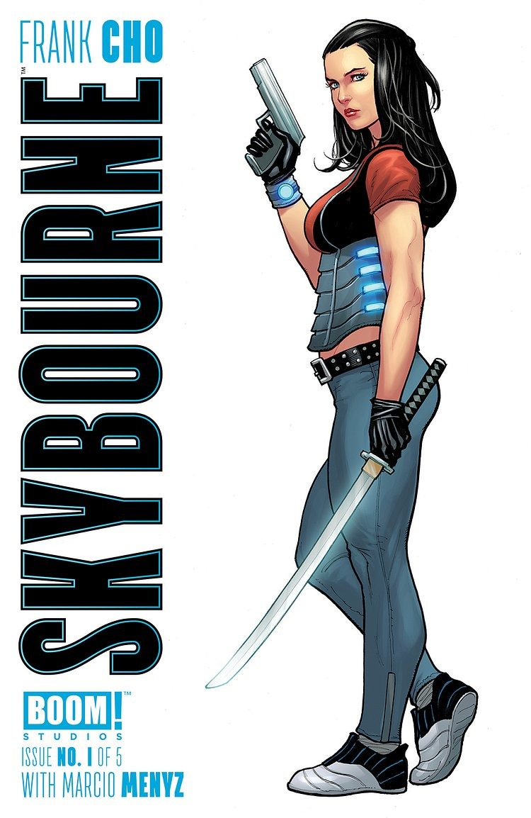 Preview Skybourne 1 By Frank Cho Boom