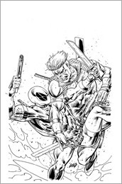 Solo #1 Cover - Liefeld Sketch Variant