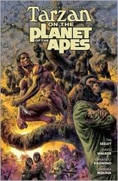 Tarzan On The Planet Of The Apes #1 Cover