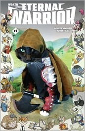 WRATH OF THE ETERNAL WARRIOR #14 - Cat Cosplay Cover Variant