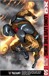 X-O Manowar #50 Cover C- Djurdjevic