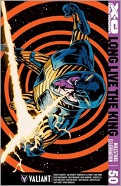 X-O Manowar #50 Cover F - Francavilla