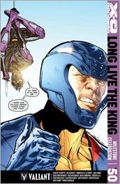 X-O Manowar #50 Cover - Jimenez Variant