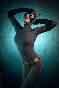 Kamiko Zero as Catwoman (Batman: The Animated Series) (Photo by Private Waffles)