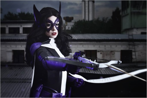 Kamiko Zero as Huntress (Photo by Vasilisa Tim)