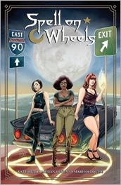 Spell on Wheels #1 Cover - Doyle